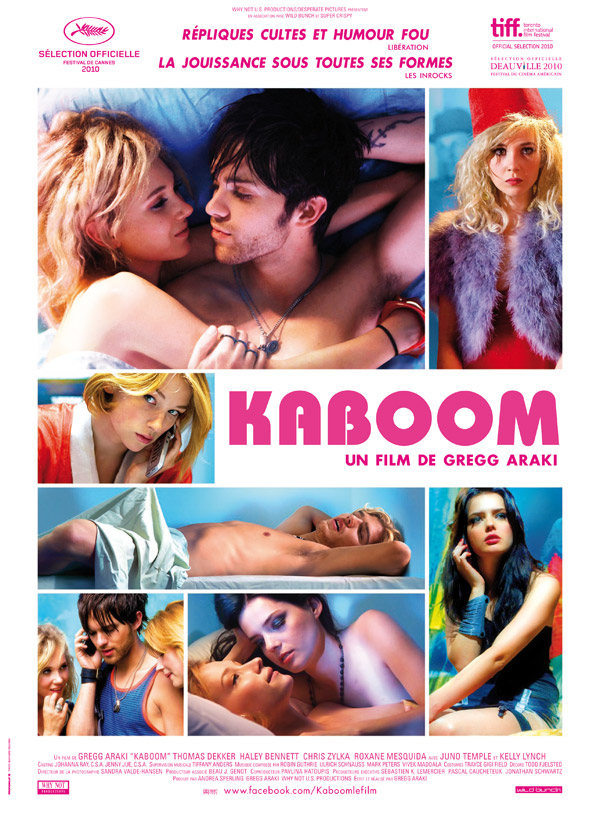 French poster from the movie Kaboom