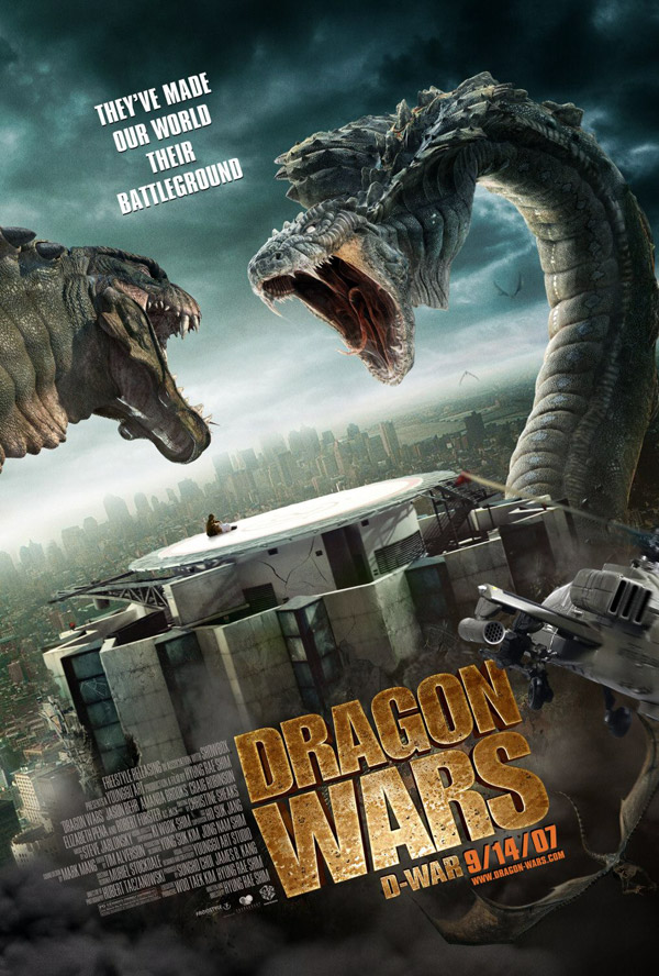 Us poster from the movie Dragon Wars (D-War)