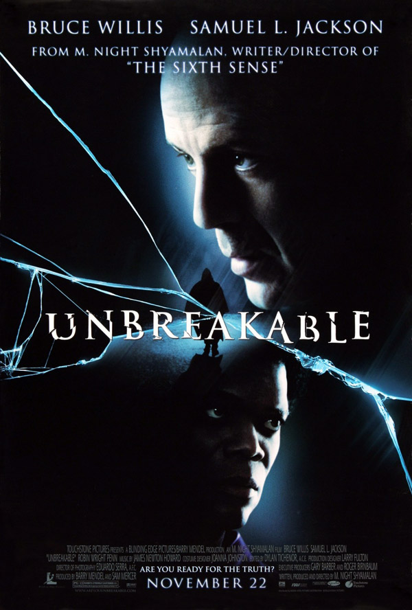 Us poster from the movie Unbreakable