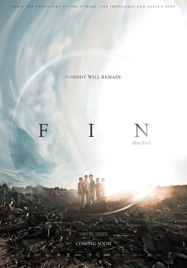 Us poster from the movie The End (Fin)