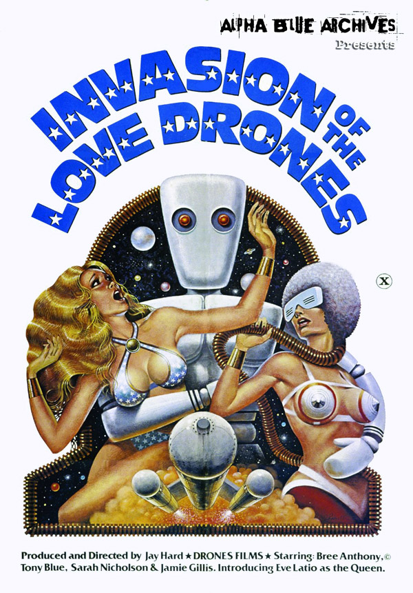 Affiche américaine de 'Invasion of the Love Drones'