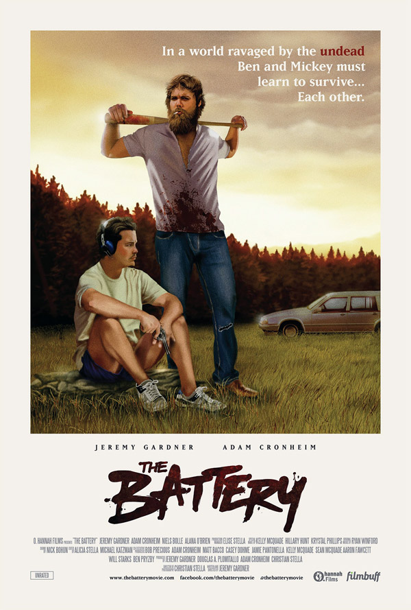 Affiche américaine de 'The Battery'