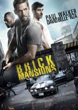 Movie poster from Brick Mansions, in theaters on April 25, 2014