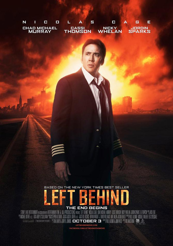 Us poster from the movie Left Behind