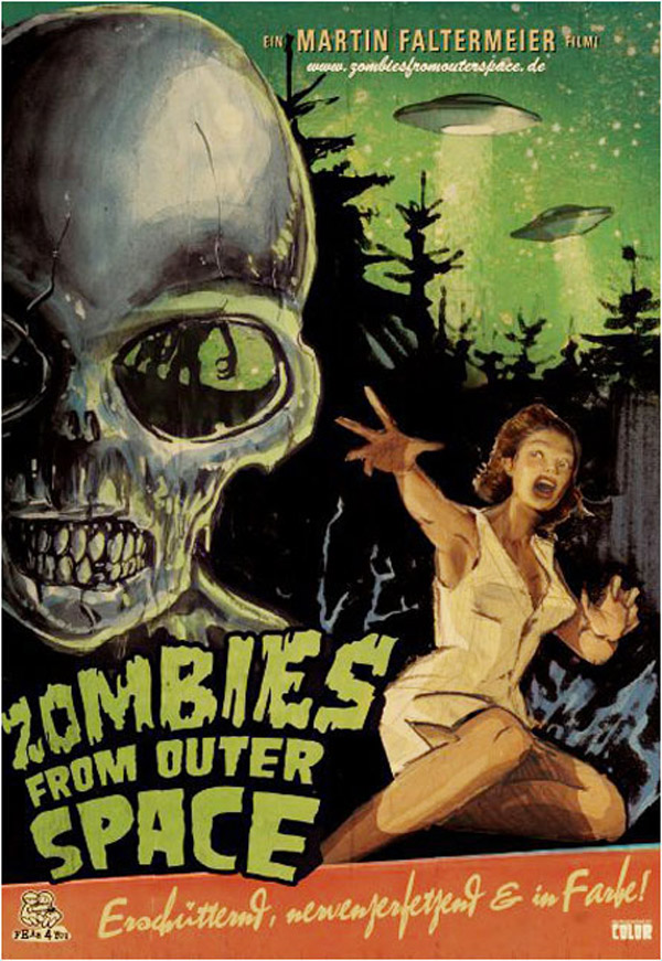 German poster from the movie Zombies from Outer Space