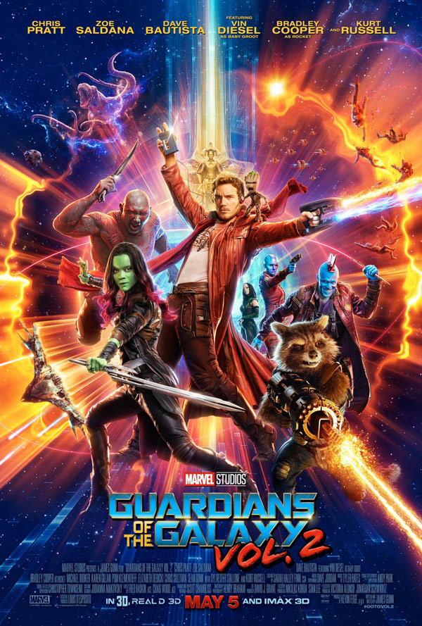 Us poster from the movie Guardians of the Galaxy Vol. 2