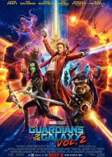 Movie poster from Guardians of the Galaxy Vol. 2, in theaters on May 05, 2017