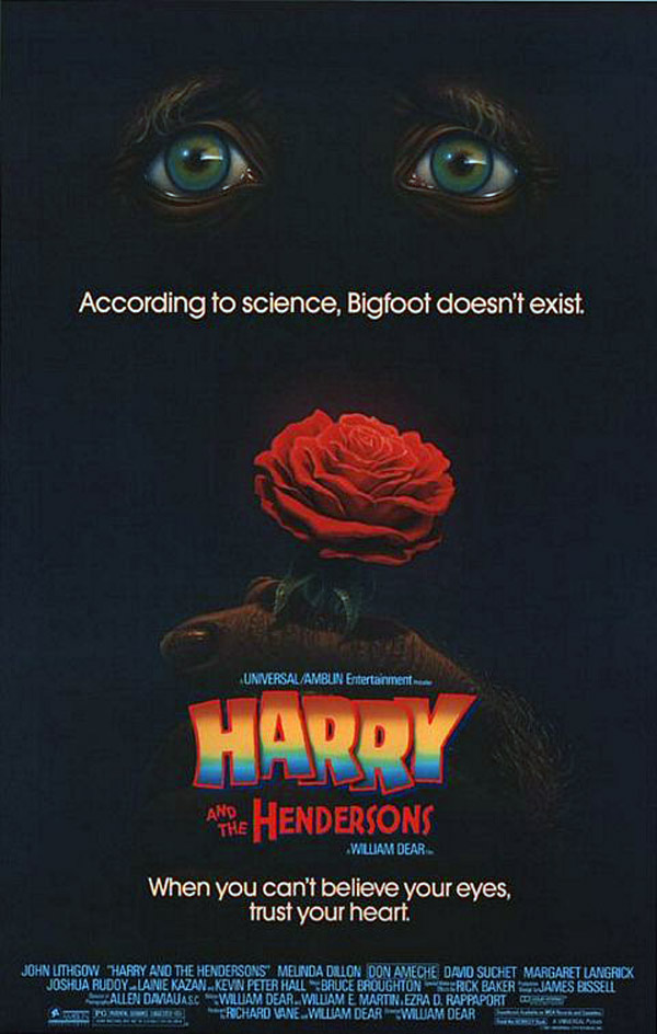 Us poster from the movie Harry and the Hendersons