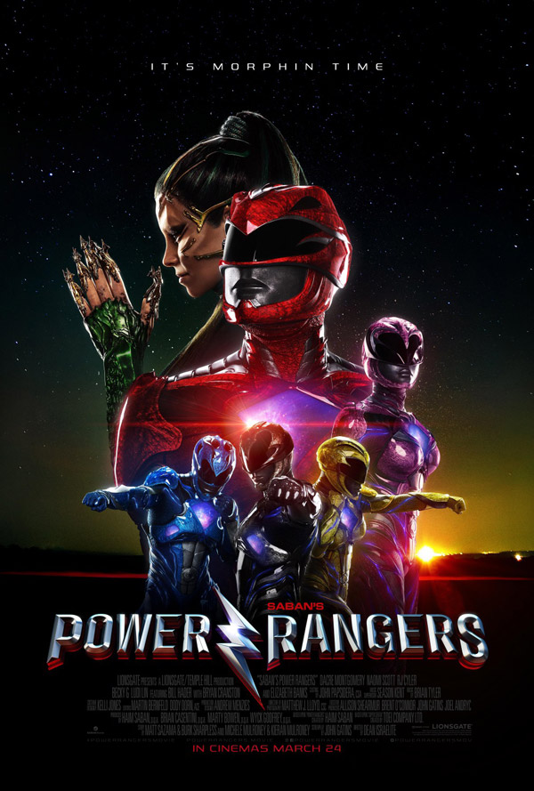 Us poster from the movie Power Rangers