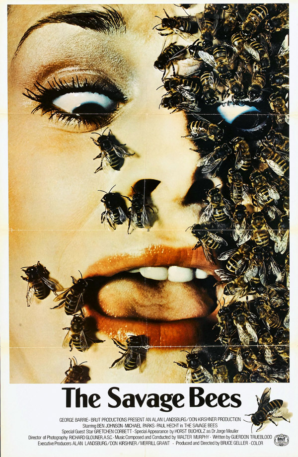 Us poster from the TV movie The Savage Bees