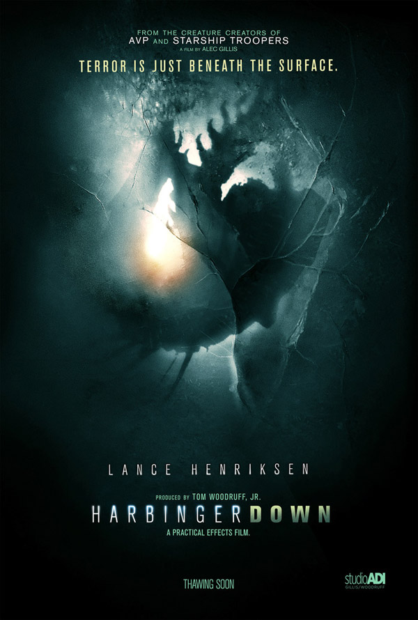 Us poster from the movie Harbinger Down