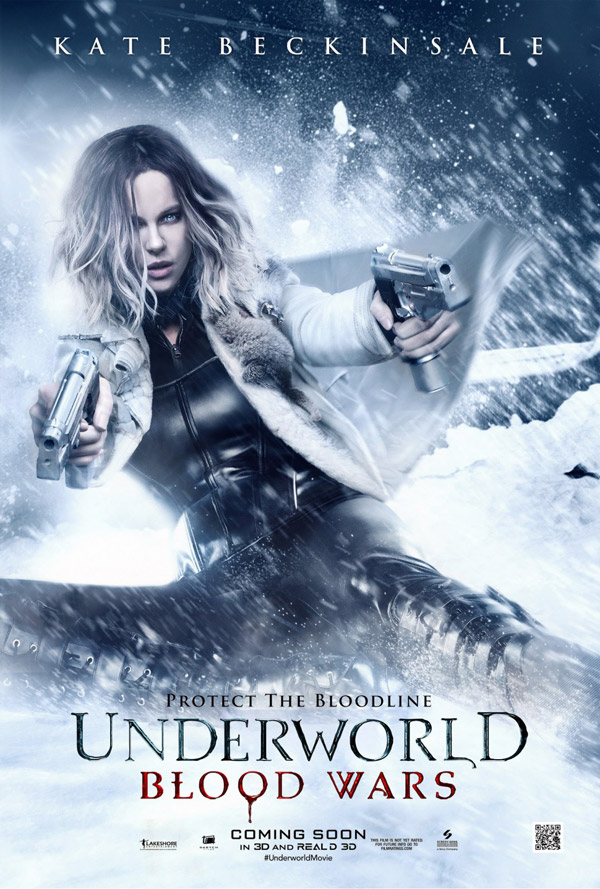 Affiche américaine de 'Underworld Blood Wars'