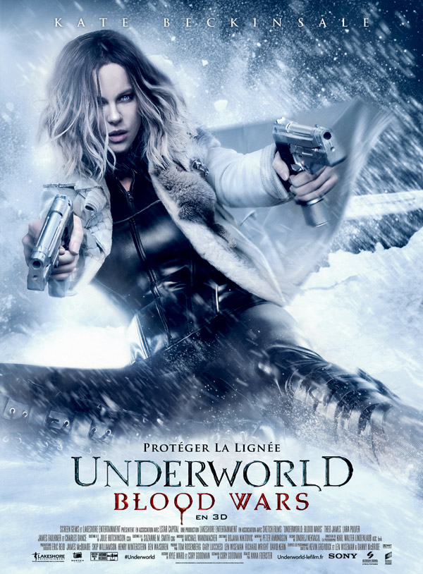 Affiche française du film Underworld Blood Wars
