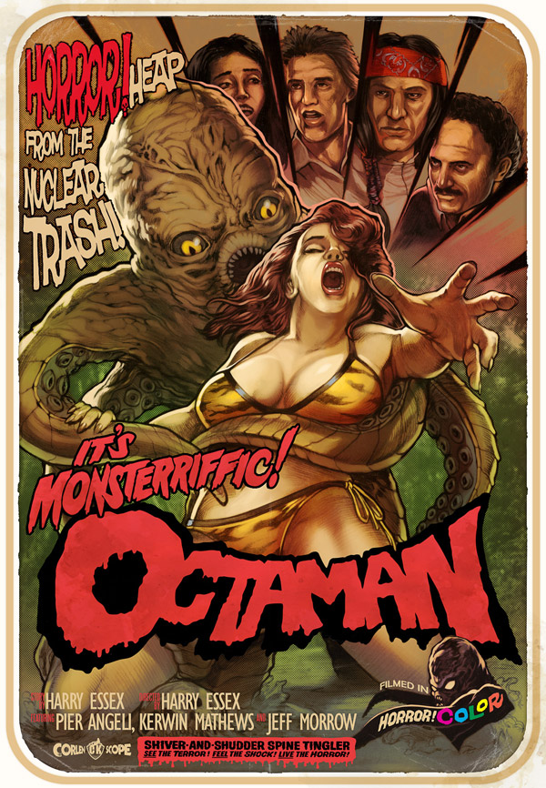 Us poster from the movie Octaman