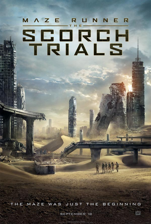 Us poster from the movie Maze Runner: The Scorch Trials