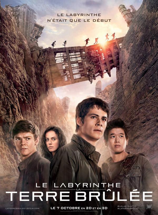 فيلم الاكشن 2016 Maze Runner 2 The Scorch Trials بجودة BluRay affiche-le-labyrinth