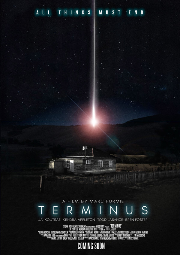 Australian poster from the movie Terminus