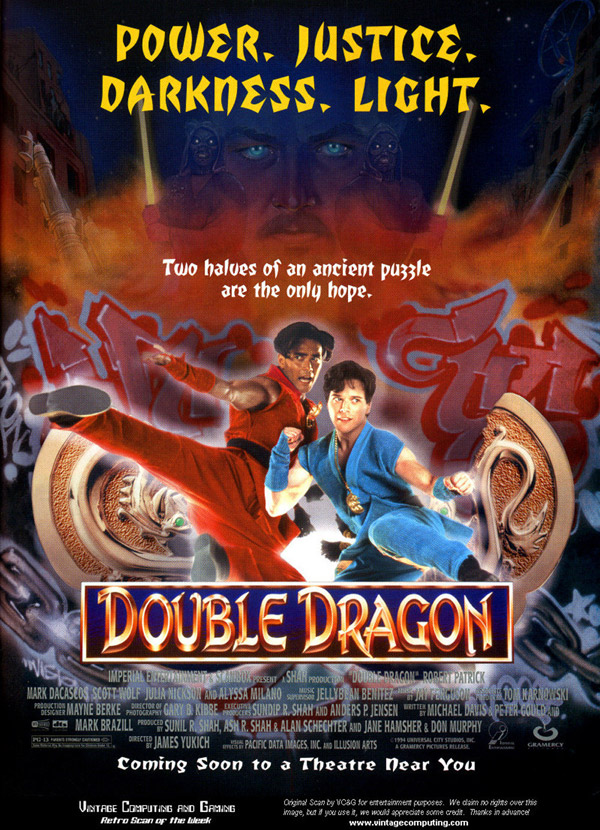 Us poster from the movie Double Dragon
