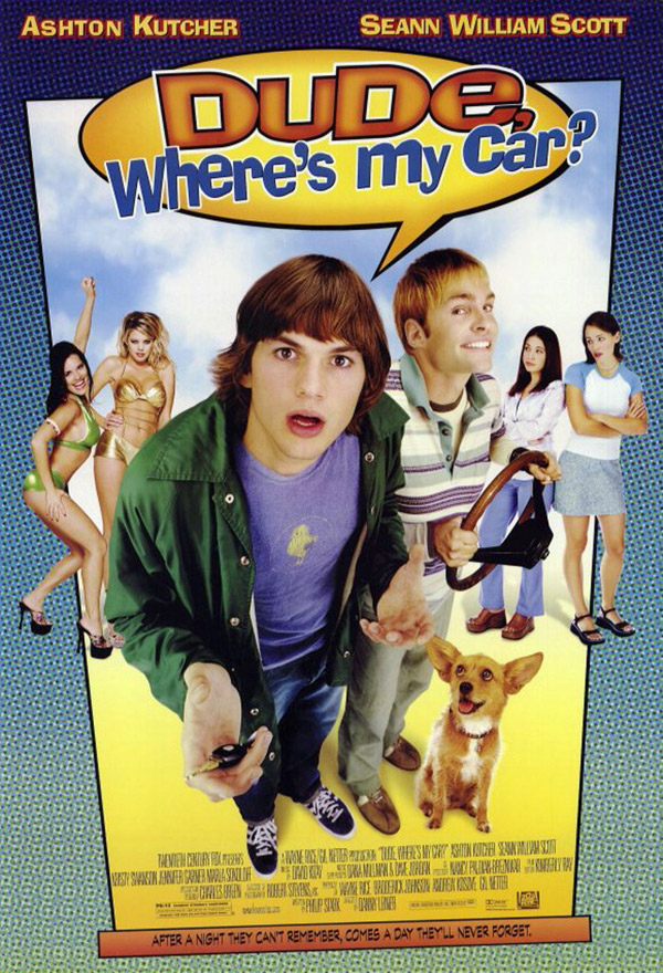 Us poster from the movie Dude, Where's My Car?