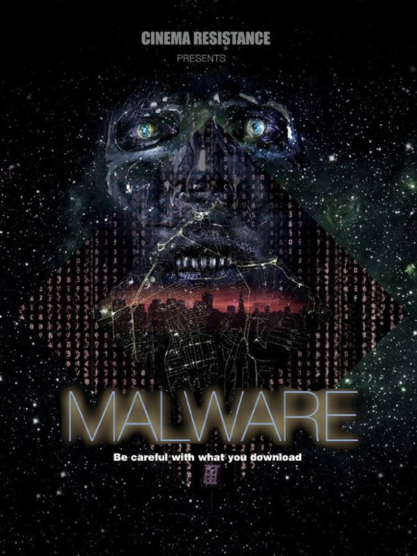 International poster from the movie Malware