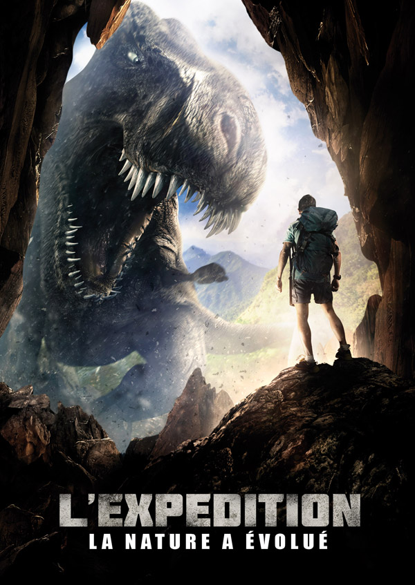 French poster from the movie Extinction