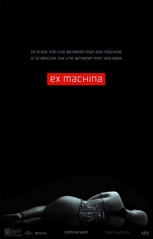 Affiche américaine de 'Ex Machina'