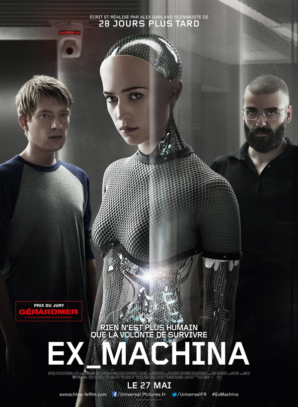 Ex Machina | 2015 | 720p | Mega | Uptobox