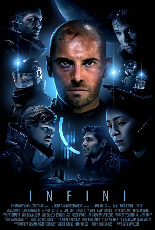 Unknown poster from the movie Infini