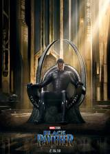 Affiche du film 'Black Panther'