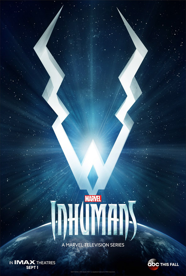 Us poster from the series Inhumans
