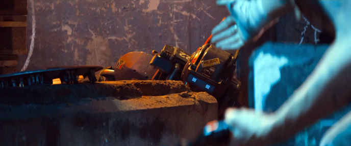 Photo de 'Chappie' - ©Sony Pictures - Chappie (Chappie) - cliquez sur la photo pour la fermer