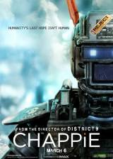 Movie poster from Chappie, in theaters on March 06, 2015