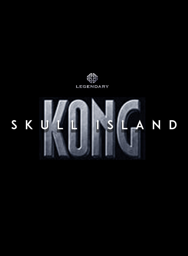Affiche internationale de 'Kong: Skull Island'