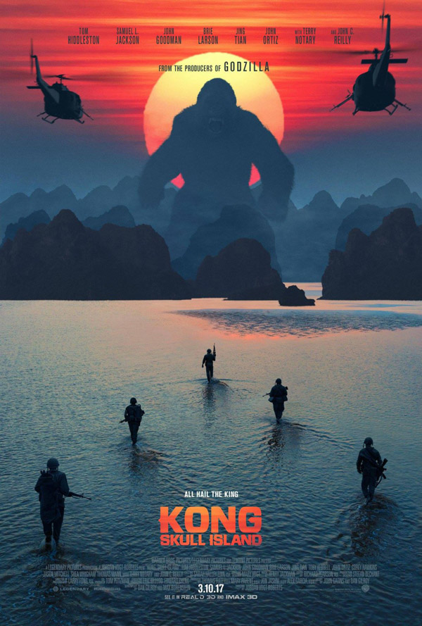 Us poster from the movie Kong: Skull Island