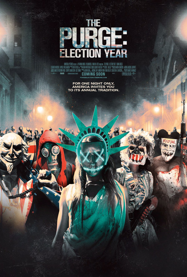 Us poster from the movie The Purge: Election Year