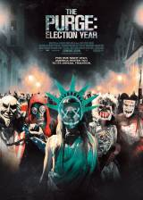 Movie poster from The Purge: Election Year, in theaters on July 01, 2016