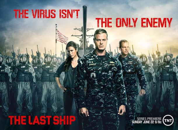 Affiche américaine de 'The Last Ship'