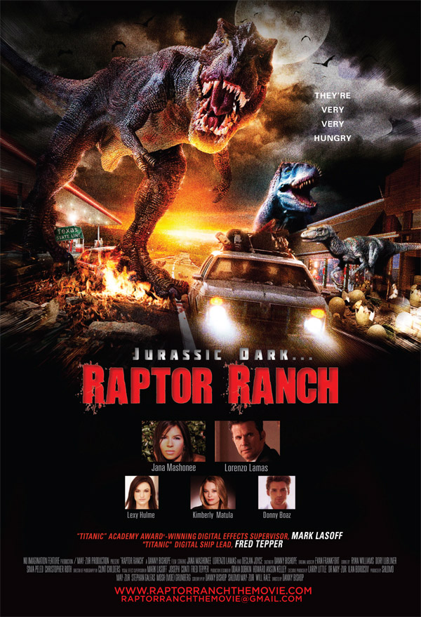 Us poster from the movie Raptor Ranch