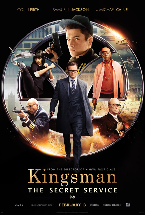 Us poster from the movie Kingsman: The Secret Service