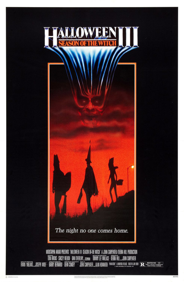 Us poster from the movie Halloween III: Season of the Witch