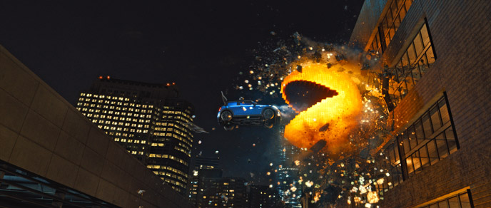 Photo de 'Pixels' - @2015 Columbia Pictures - Pixels (Pixels) - cliquez sur la photo pour la fermer