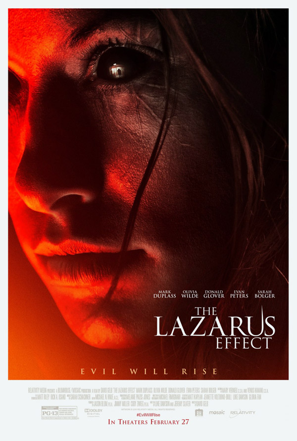 Us poster from the movie The Lazarus Effect