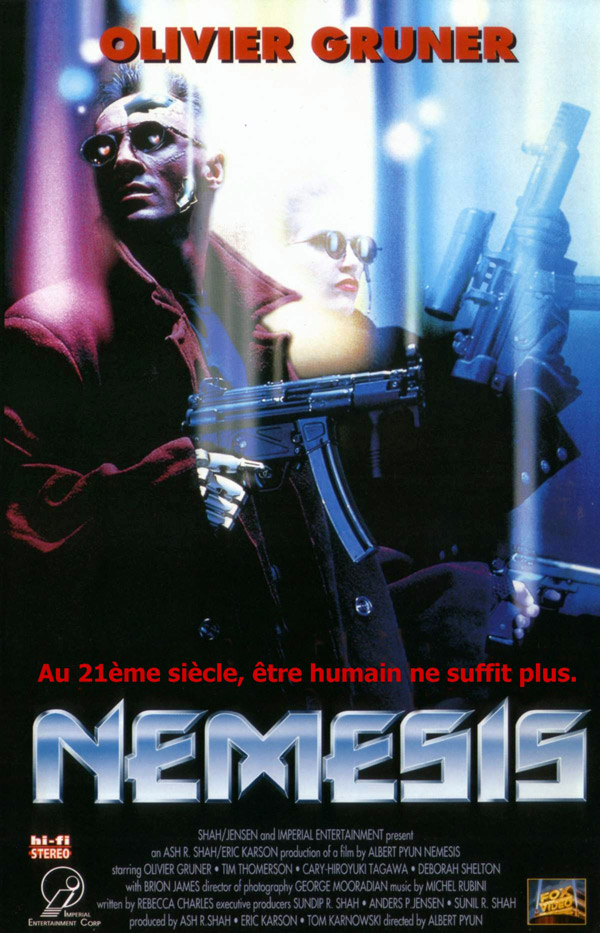 French poster from the movie Nemesis