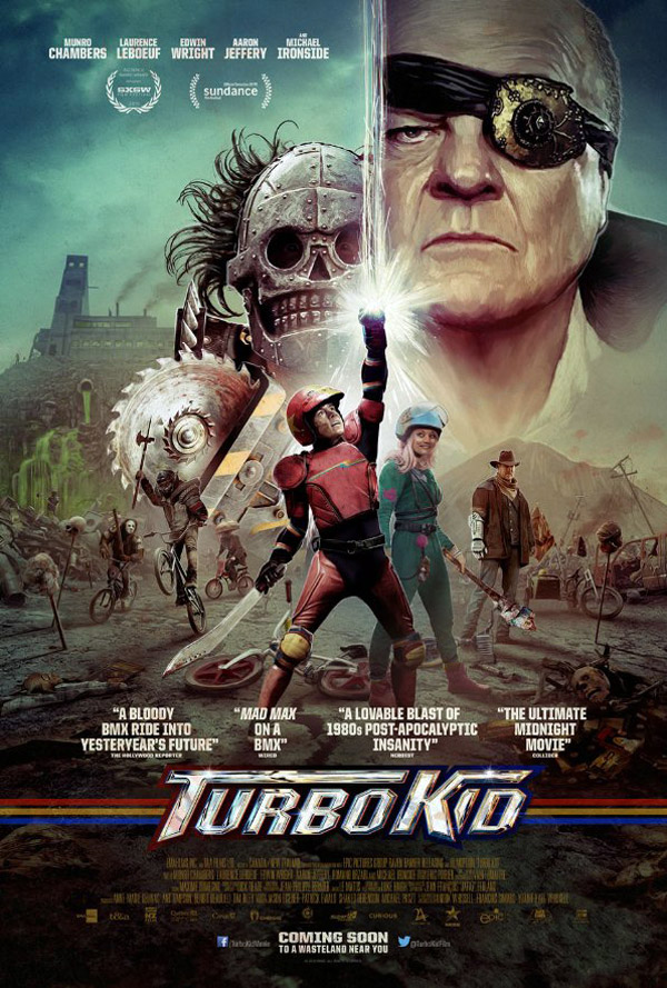 Us poster from the movie Turbo Kid