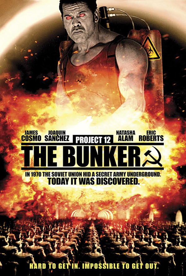 International poster from the movie Project 12: The Bunker
