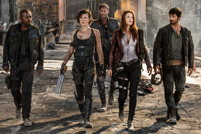 Still from 'Resident Evil: The Final Chapter' - ©2016 Capcom Company - Resident Evil: The Final Chapter (Resident Evil : Chapitre final) - click on the still to close it