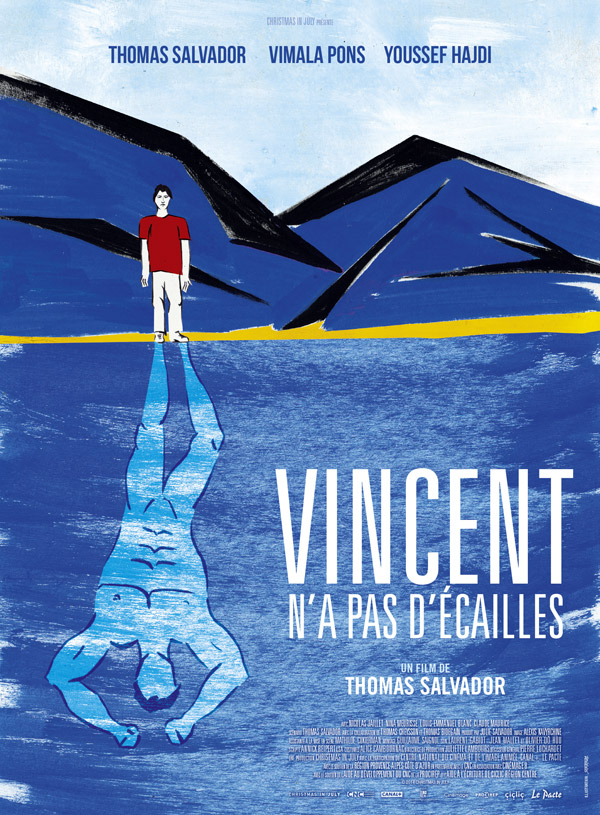 French poster from the movie Vincent (Vincent n'a pas d'écailles)