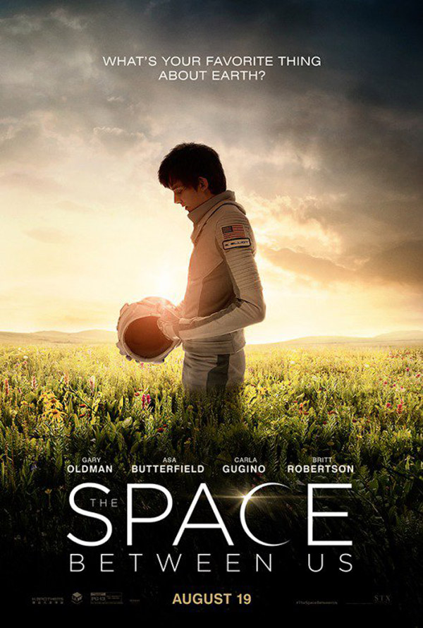 Us poster from the movie The Space Between Us