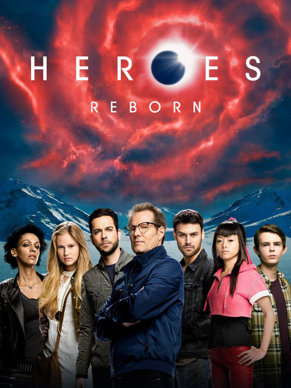 International poster from the series Heroes Reborn