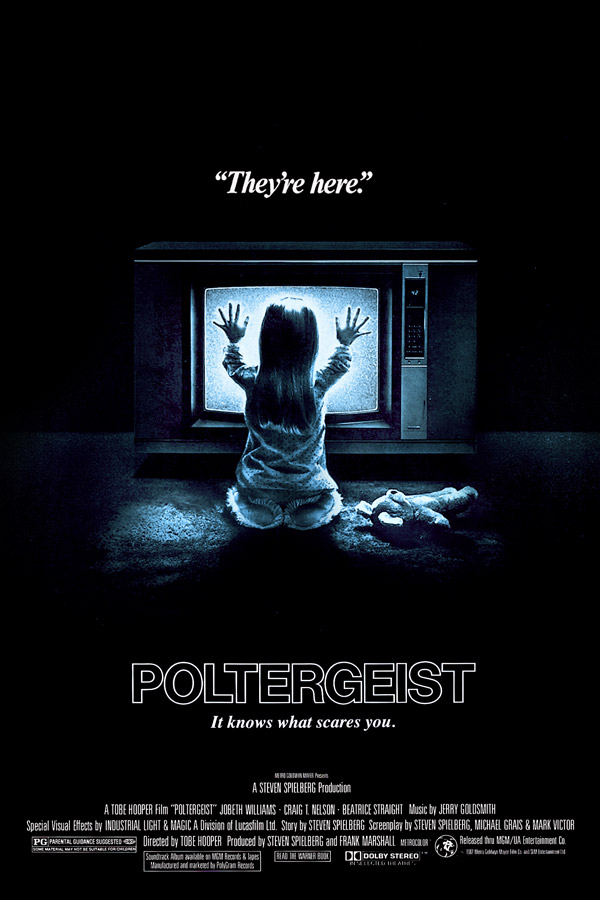 Us poster from the movie Poltergeist